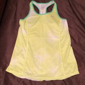 Green Nike dri-fit tank top